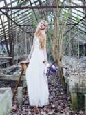 Moody Entomology Wedding Inspiration in an Abandoned Greenhouse