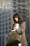 Six Purse Essentials for the Power Woman