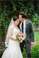 Dainty Wedding With Pops Of Pink