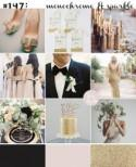 Black, Blush & Gold Wedding Inspiration