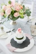 Contemporary Pink & Grey Romantic Wedding Inspiration from the b.loved b.team