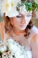 White Bohemian Wedding Ideas