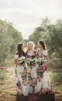 {Wedding Trends} : Floral Bridesmaid Dresses - Belle the Magazine . The Wedding Blog For The Sophisticated Bride