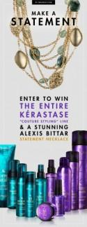 Make a Statement: Kérastase Couture Styling + Alexis Bittar Giveaway