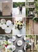 A Midwest Camp Wedding With Loads of Charm - The Bride's Guide : Martha Stewart Weddings