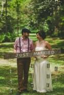 An outdoor DIY wedding in Queensland
