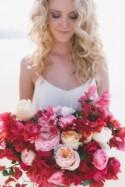 Red And Pink Coastal Wedding Inspiration