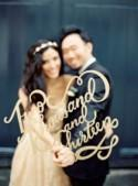 30 Beautiful And Creative Calligraphy Wedding Ideas