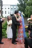 Colouful Brooklyn Backyard Wedding: Lauren & Erik