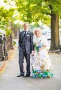 Cristina & Tom's pop-up roving urban wedding