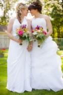 Rainbow Wedding in the Heart of Niagara: Amanda & Briar