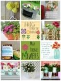 Colander Flower Planter