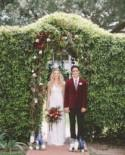 Rich Hues: Oxblood And Cobalt Wedding Inspiration