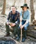 An Engagement Session at a Cabin in the Woods: Katy + Adam