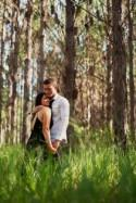 Pine Forest Engagement - Polka Dot Bride
