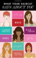 What Your Haircut Says About You