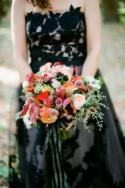 Black Gown Bridal Inspiration Shoot