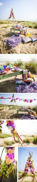 Styled Shoot - The beach festival
