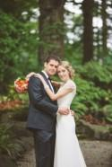 A Chic Pink and Orange Wedding In Stanley Park