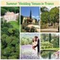 Favourite summer wedding venues in France