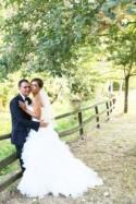 Pink & Green Casual & Rustic Italian Wedding