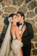 Extravagant Santorini Wedding - Belle the Magazine . The Wedding Blog For The Sophisticated Bride
