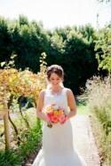 Coral & Navy South African wedding on a family farm by Cheryl McEwan