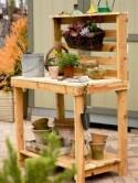 How to Make Potting Bench - DIY & Crafts - Handimania