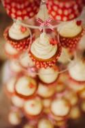 Kitsch & Fun Red Polka Dot Budget Wedding