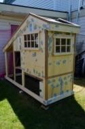 How to Make Chicken Coop - Craftspiration - Handimania