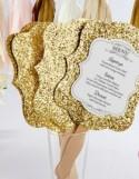 Invitation Paper Gold