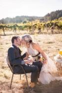 Theresa & David's Sonoma County artists' farm wedding