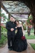 Gothic California Winery Wedding: Sarah and Brandin