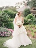 Elegant outdoor bridal inspiration - Wedding Sparrow