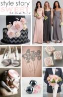 Style Story: Sweet Romance in Pink + Gray