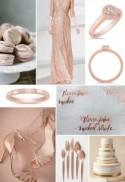 Rose Gold + Yellow Sapphire Inspired Fall Wedding Trends