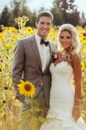 Real Wedding: Sunflowers and Love - Belle the Magazine . The Wedding Blog For The Sophisticated Bride
