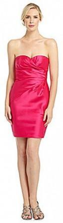 Adrianna Papell Strapless Sweetheart Dress