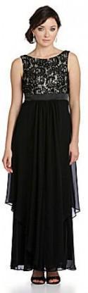 Eliza J Lace-Bodice Dress