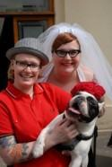 Let's drool over 21 offbeat wedding pups