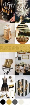 Black + Gold Wedding Ideas