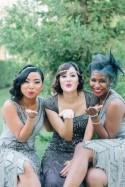 Navy And Purple Gatsby-Inspired Wedding