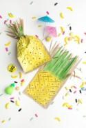 How to Make Pineapple Favor Bags - DIY & Crafts - Handimania