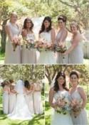 Shabby Chic Backyard Wedding