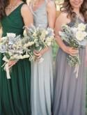 Soft grey, blue and sage green inspired real wedding - Wedding Sparrow