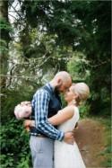 Thrifty Woodland Wedding
