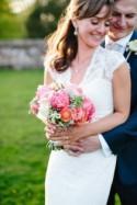 Beautiful & Stylish Rustic Coral Barn Wedding
