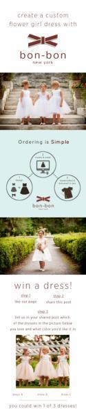 Win a Flower Girl Dress with Bon-Bon New York