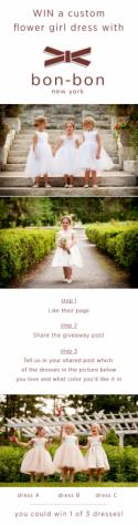 Win a Flower Girl Dress from Bon-Bon New York