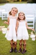 Lace Flower Girl Dress Country Wedding Flower Girl Tolddler Flower Girl Tutu Girl Christening Wedding Children Bridesmaid Communion Dress
